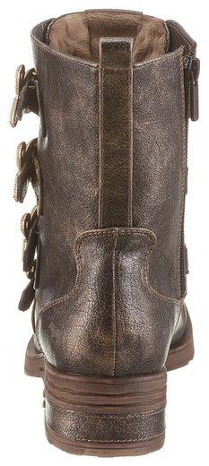 Stiefelette Dekoelementen Trendigen Mit Shoes Mustang qX6pOx