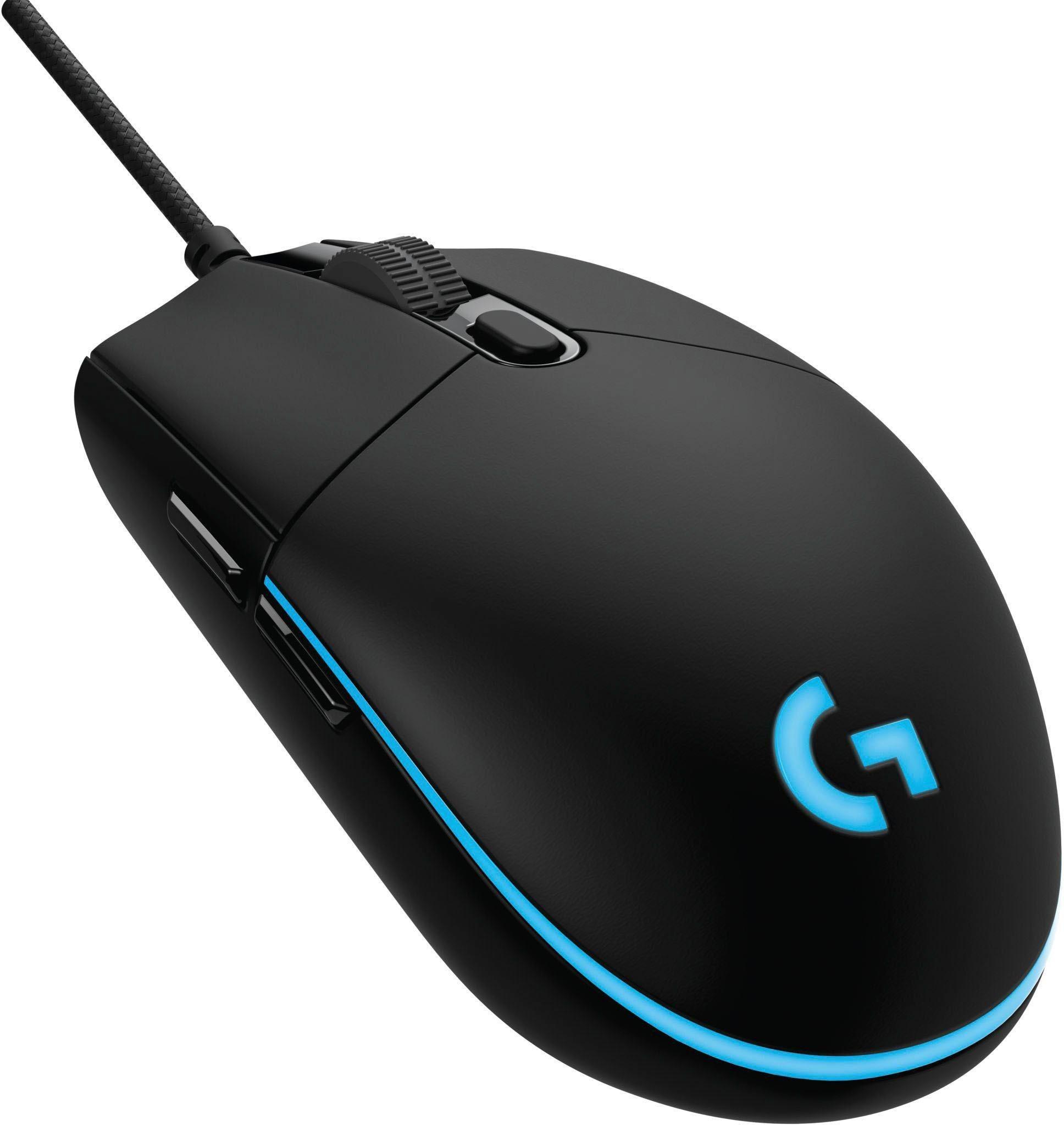 »G Pro« Gaming-Maus (kabelgebunden, 1000 dpi)