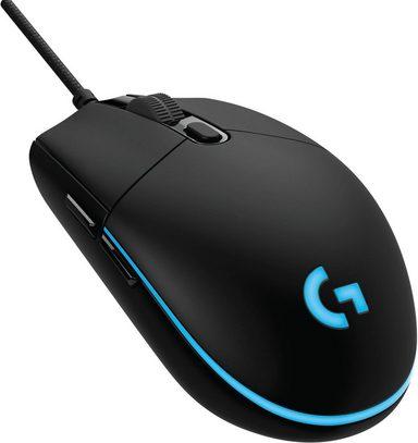 Logitech Games »G Pro« Gaming-Maus (kabelgebunden, 1000 dpi)