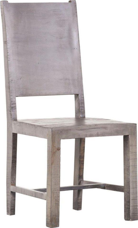 Gutmann Factory Stühle »Chicco« Aus Massivem Mangoholz (2er Set)