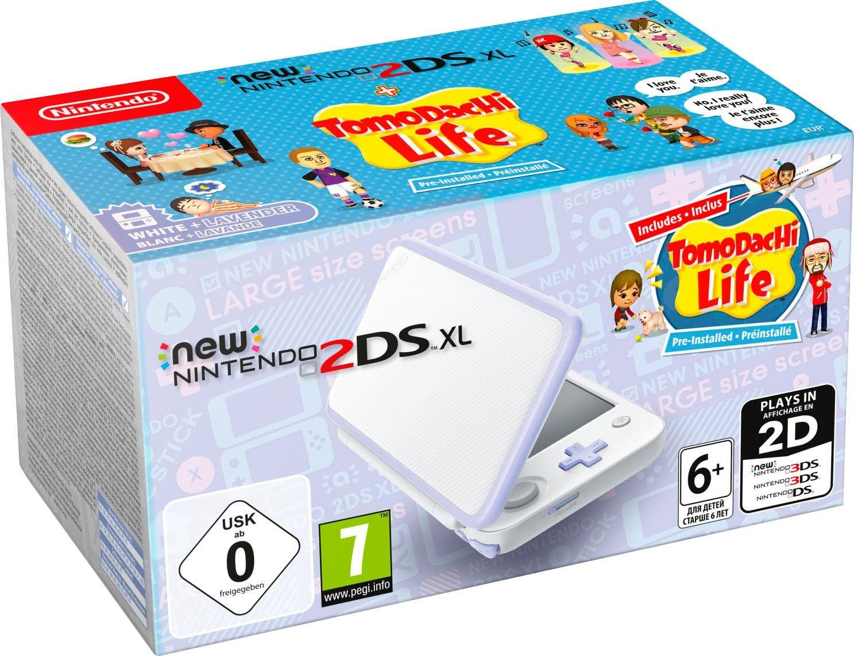 Nintendo 2DS XL (Konsolen-Bundle, inkl. Tomodachi Life vorinstalliert)