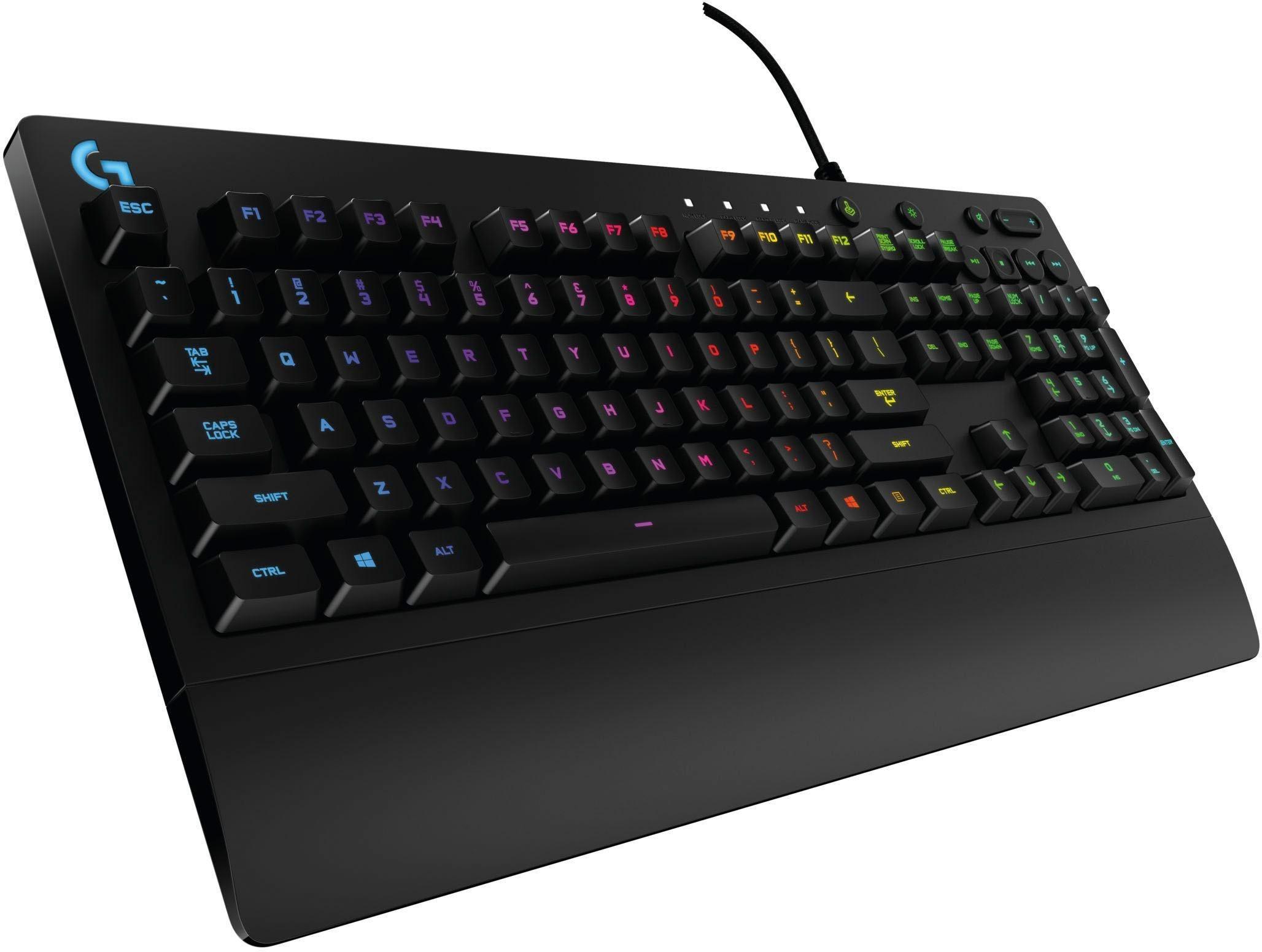 »G213 Prodigy« Gaming-Tastatur (USB-Anschluss, Multimedia-Tasten)