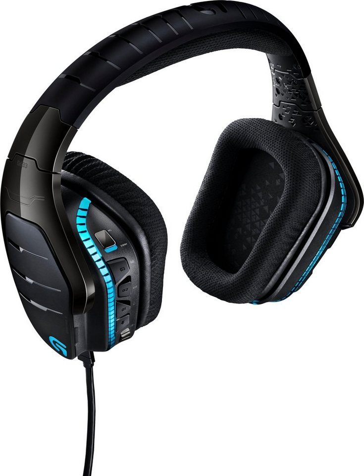logitech games g633 artemis spectrum gaming headset. Black Bedroom Furniture Sets. Home Design Ideas