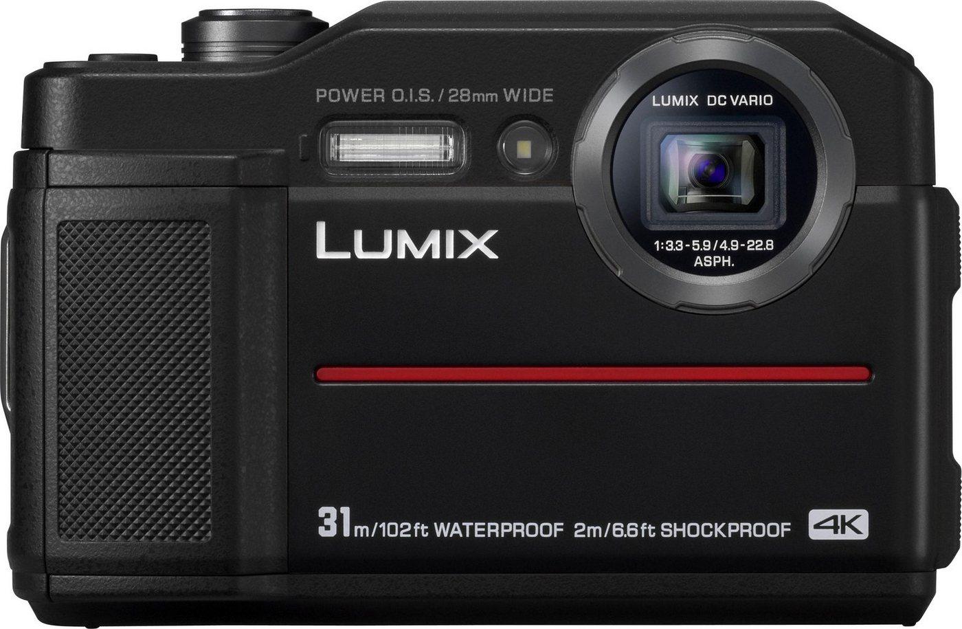 Action, Outdoorkameras - Lumix Panasonic »Lumix DC FT7« Outdoor Kamera (4K Ultra HD, WLAN (Wi Fi), 4,6x opt. Zoom)  - Onlineshop OTTO