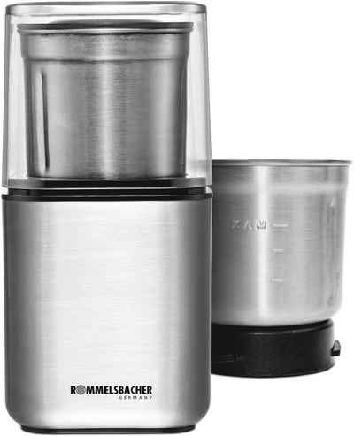 Rommelsbacher Kaffeemühle EGK 200, 200 W, 70 g Bohnenbehälter