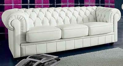 Max Winzer® 3-Sitzer »Kent«, im Retrolook, mit edler Knopfheftung