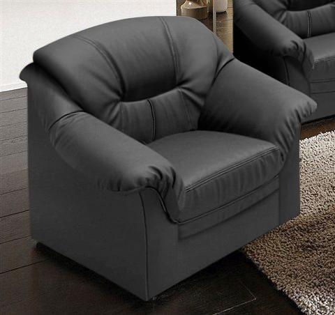 Sessel, schwarz, schwarz