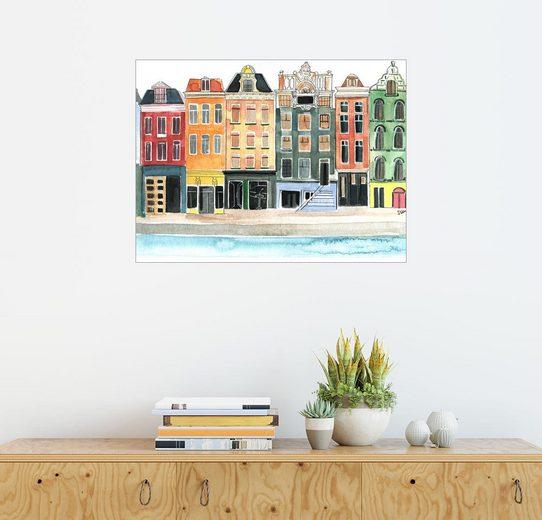 Posterlounge Wandbild - Rongrong DeVoe »Amsterdam copy«