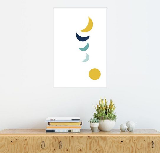Posterlounge Wandbild - Ohkimiko »over the moon«