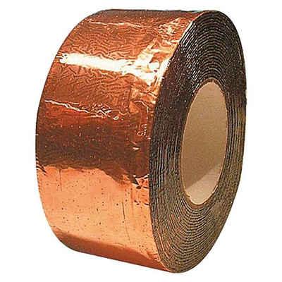 Onduline Dachbahn »10m Onduline Dichtungsband Reparaturband Kupfer 100mm breit Bitumenband selbstklebend«, (1-St)