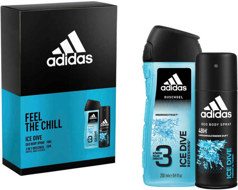 adidas Performance Duft-Set »adidas Ice Dive«, 2-tlg.