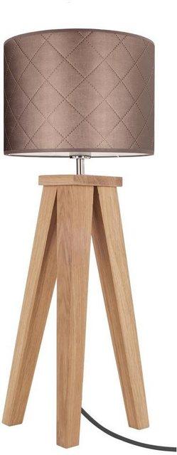 SPOT Light Tischleuchte FINJA MIRABELLA  1-flammig grau | 05901602387900