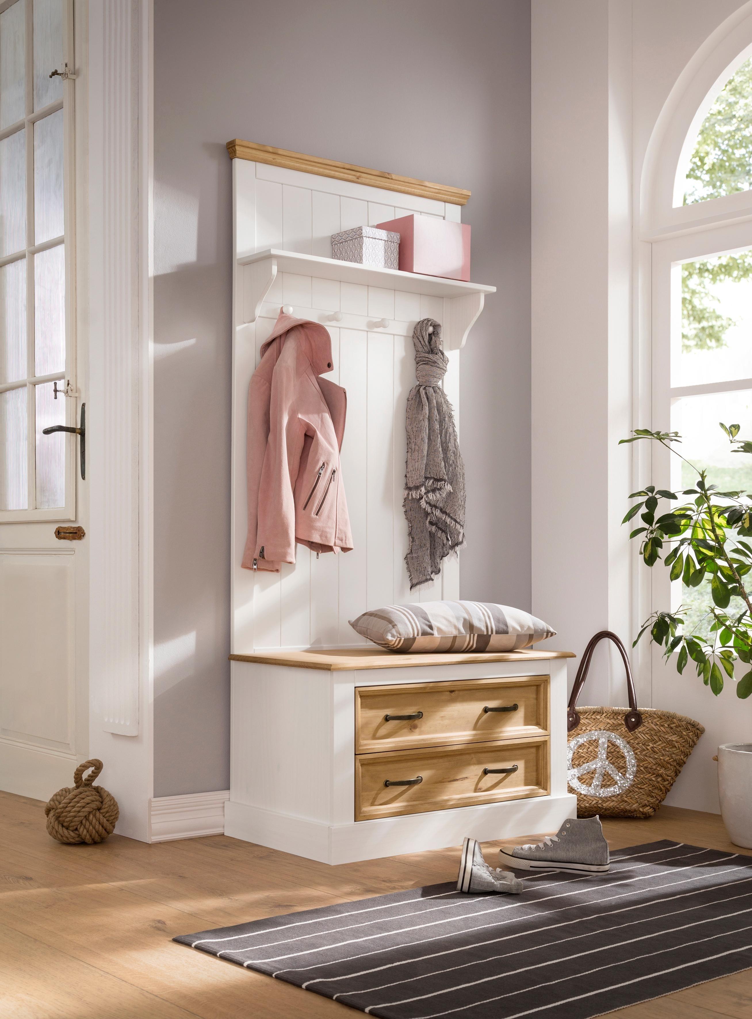 Sympathisch Möbel Diele Dekoration Von Home Affaire Kompaktgarderobe »selmaÂ«, Mit Hutablage, Mehreren