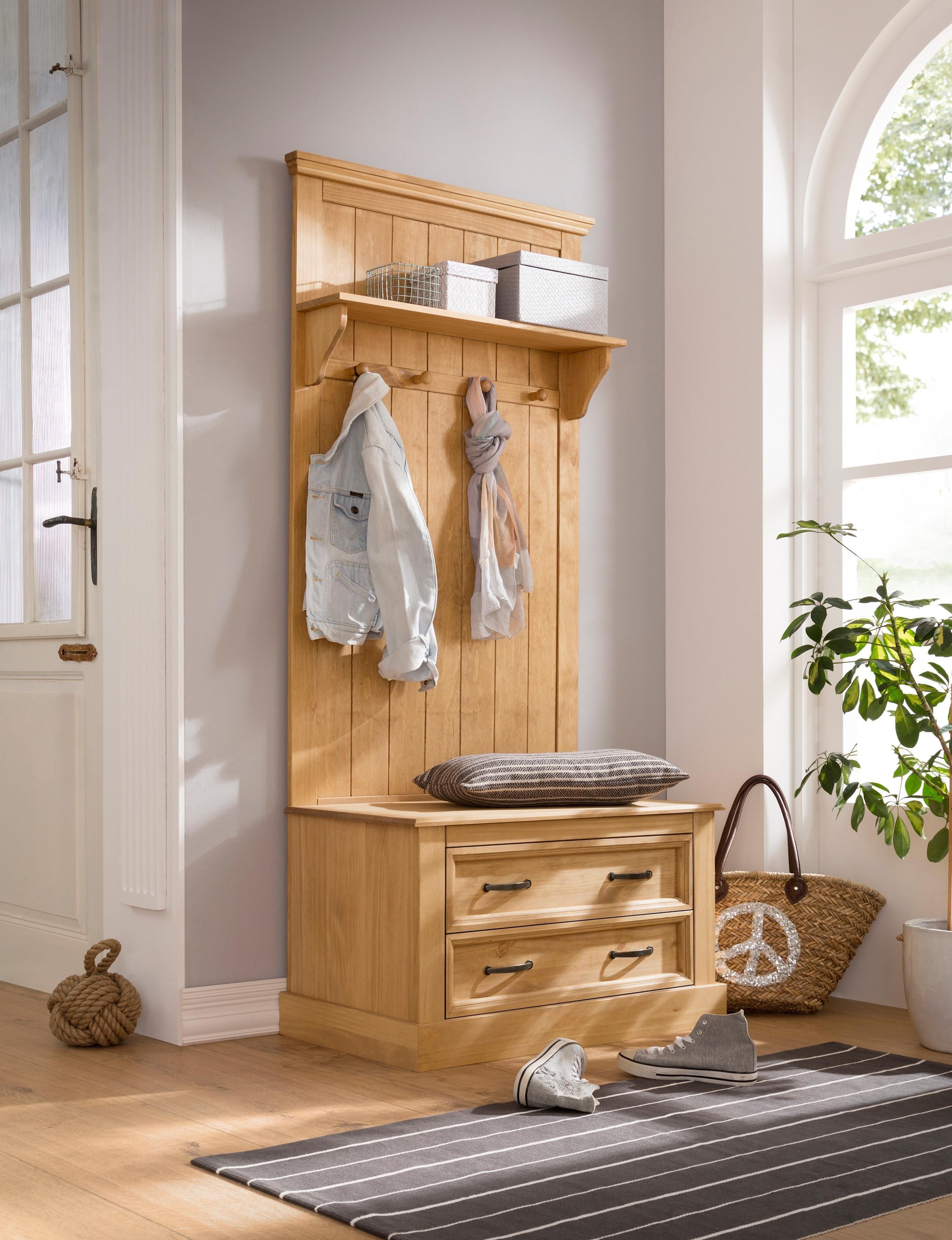 Großartig Möbel Diele Dekoration Von Home Affaire Kompaktgarderobe »selmaÂ«, Mit Hutablage, Mehreren