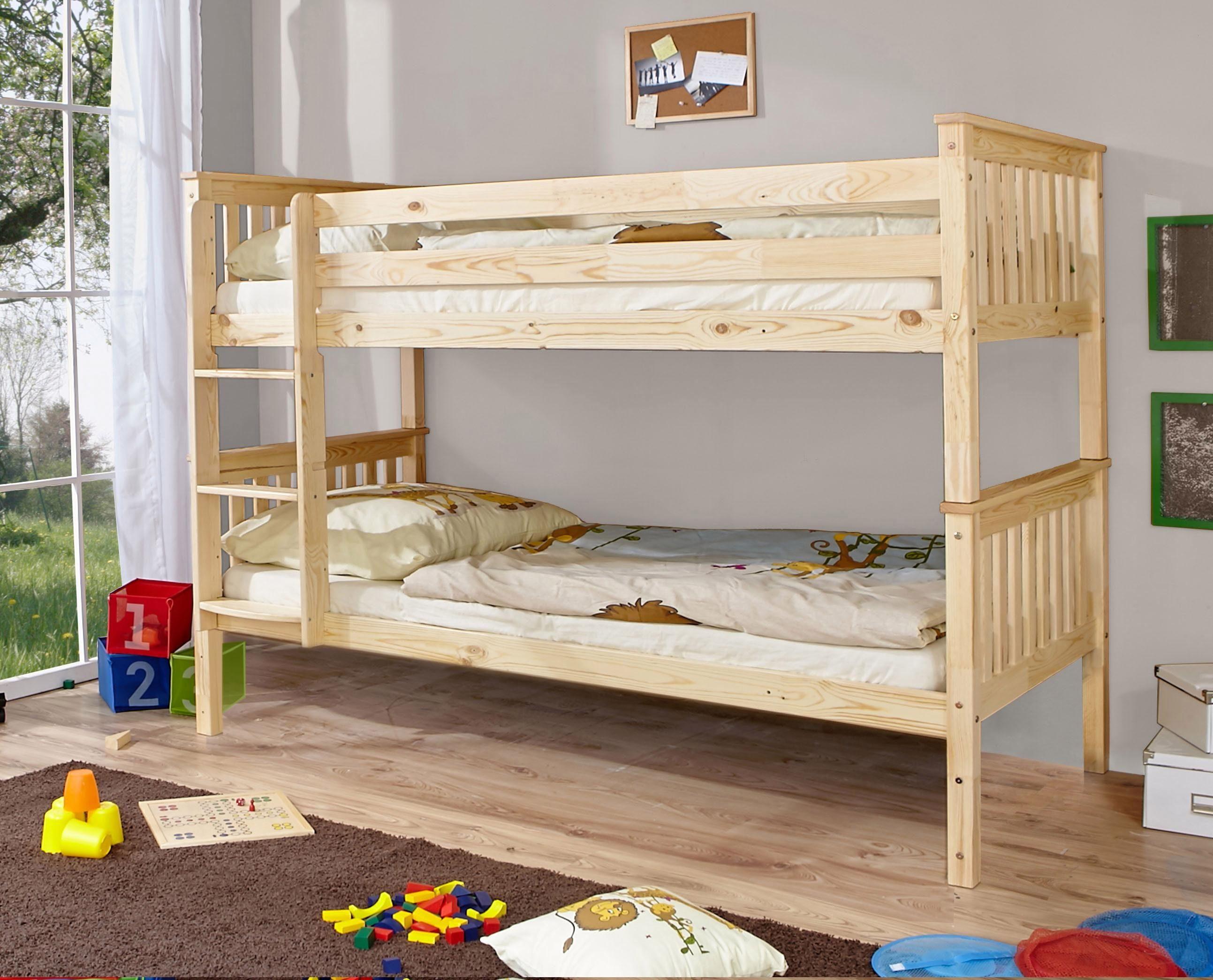 Etagenbett Skandinavisch : Ticaa einzel etagenbett lio« online kaufen otto