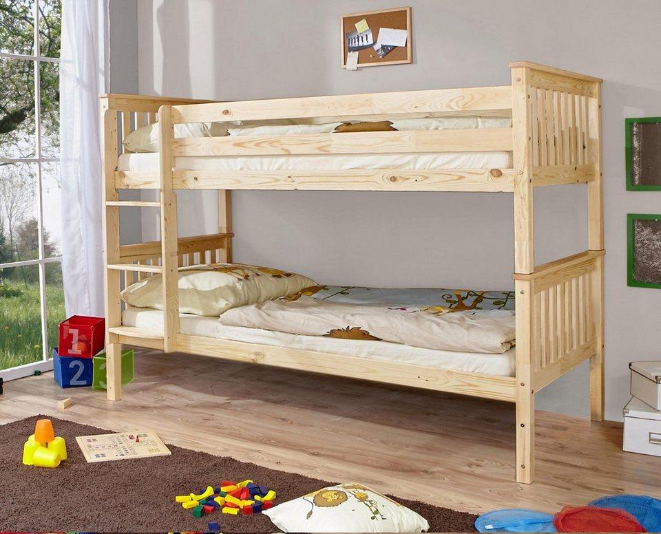 Etagenbett Bibop Erfahrung : Ticaa einzel etagenbett »lio« online kaufen otto