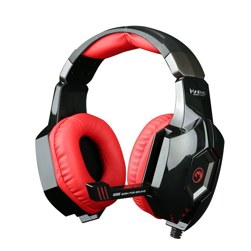 MARVO Scorpion Gaming-Headset HG9016 »Marvo HG9016 RD 7.1 USB«