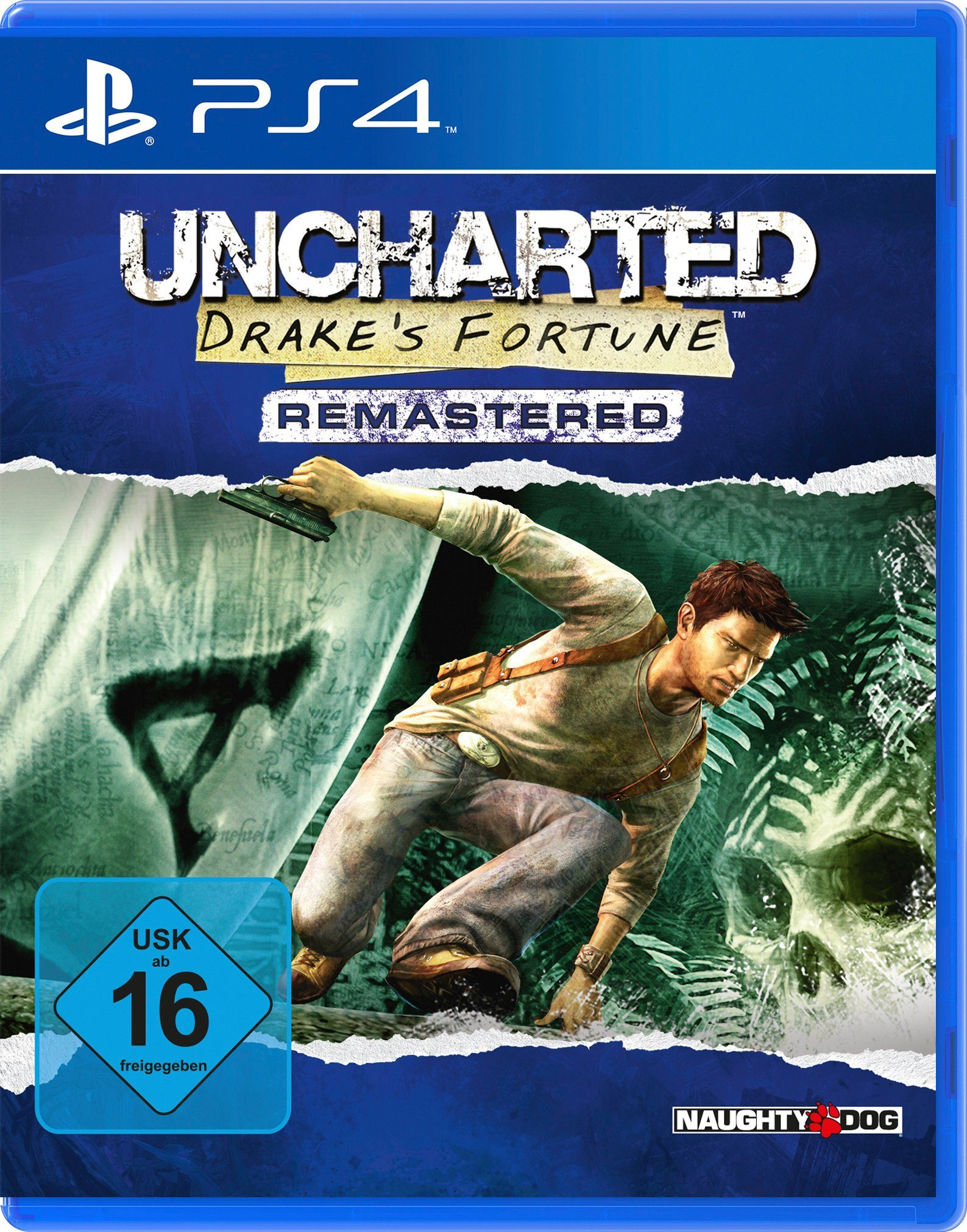 Sony Software Pyramide - Playstation 4 Spiel »Uncharted Drake's Fortune Remastered«