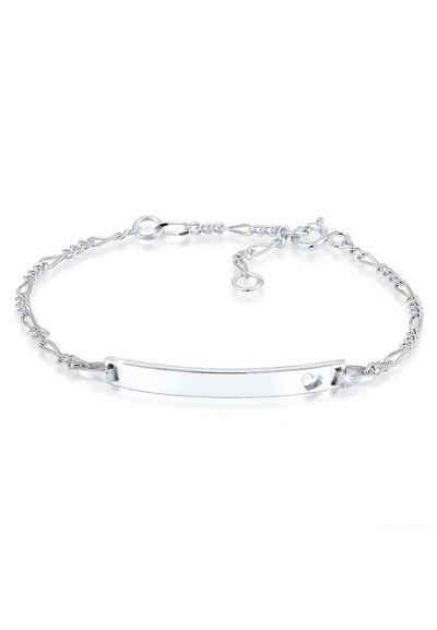 Elli Armband »Kinder Herz Geburt Namens-Band 925 Silber« 20408ee2a7