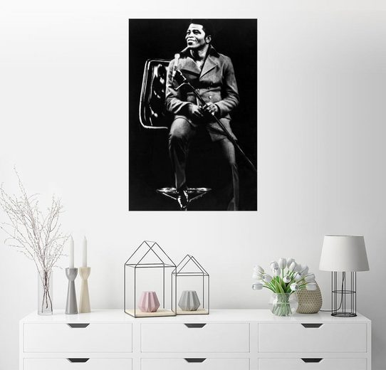 Posterlounge Wandbild »James Brown«