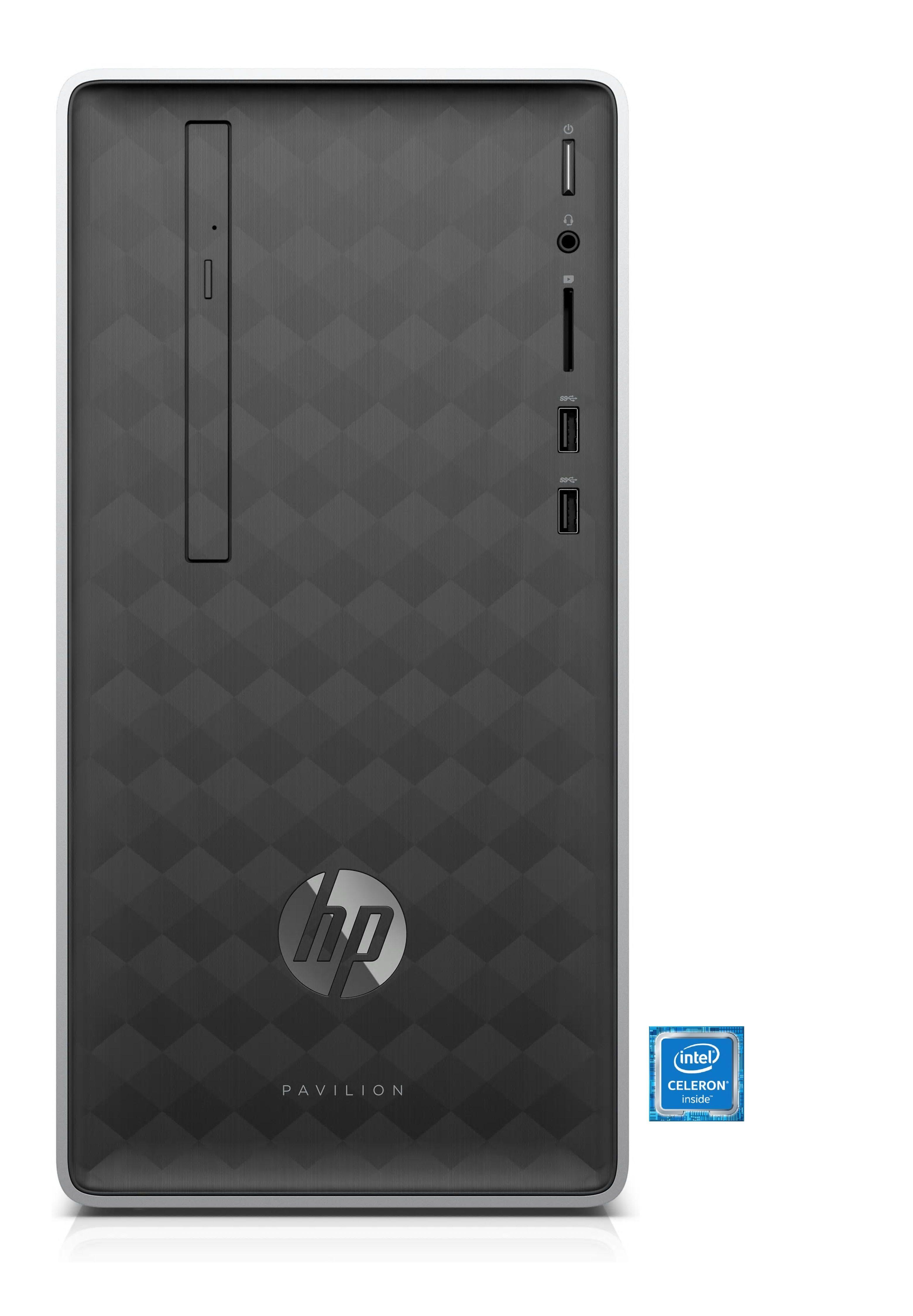 HP Pavilion 590-a0507ng Desktop PC »Intel Celeron J4005, Intel Graphics, 1 TB HDD, 4GB«