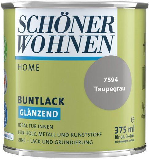 SCHÖNER WOHNEN-Kollektion Lack »Home«, glänzend, 375 ml, taupegrau