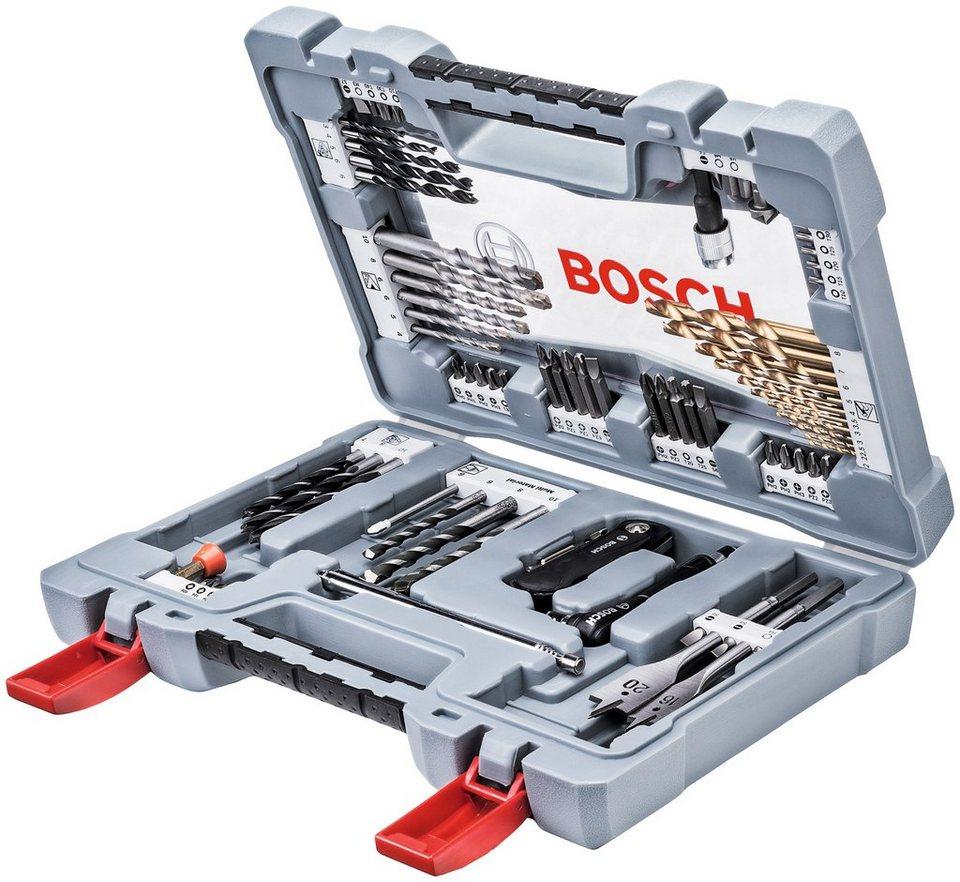 bosch bohrer- und bit-set »premium«, 76-tlg. | otto