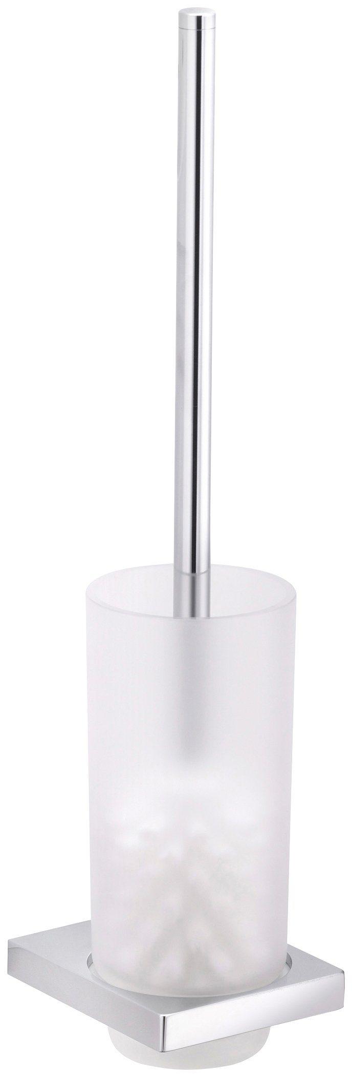 WC-Bürstengarnitur »Edition 11«, Echtkristall-Glas mattiert, verchromt