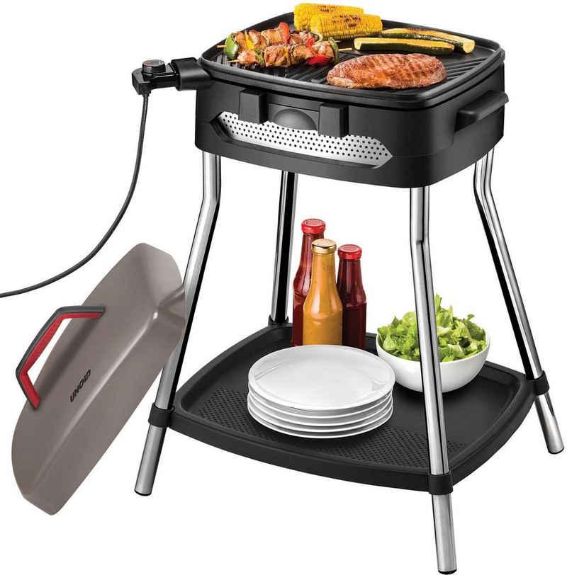 Unold Elektro-Standgrill Barbecue Power Grill 58580, 2000 W