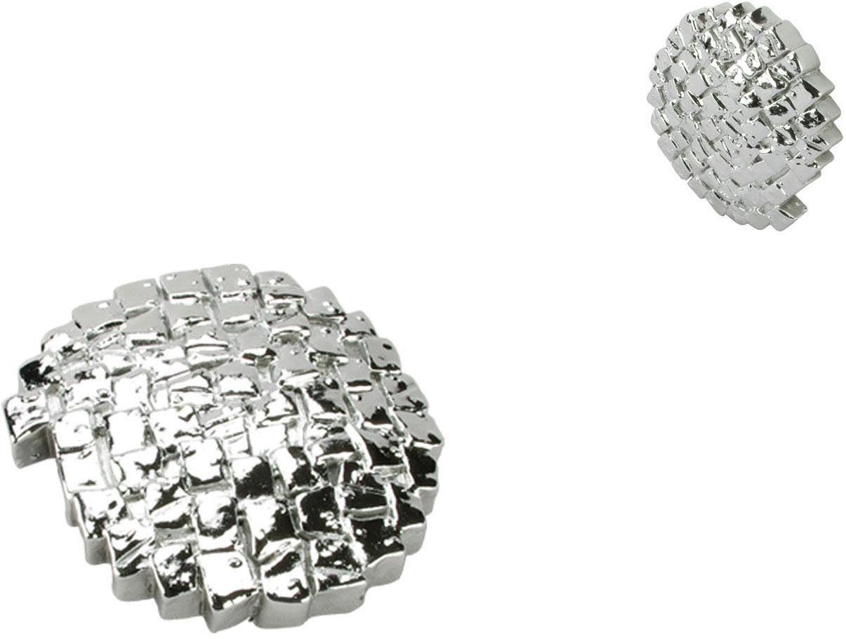 Dekomagnet, Liedeco, »Steinoptik«, für metallische Flächen (2 Stück)