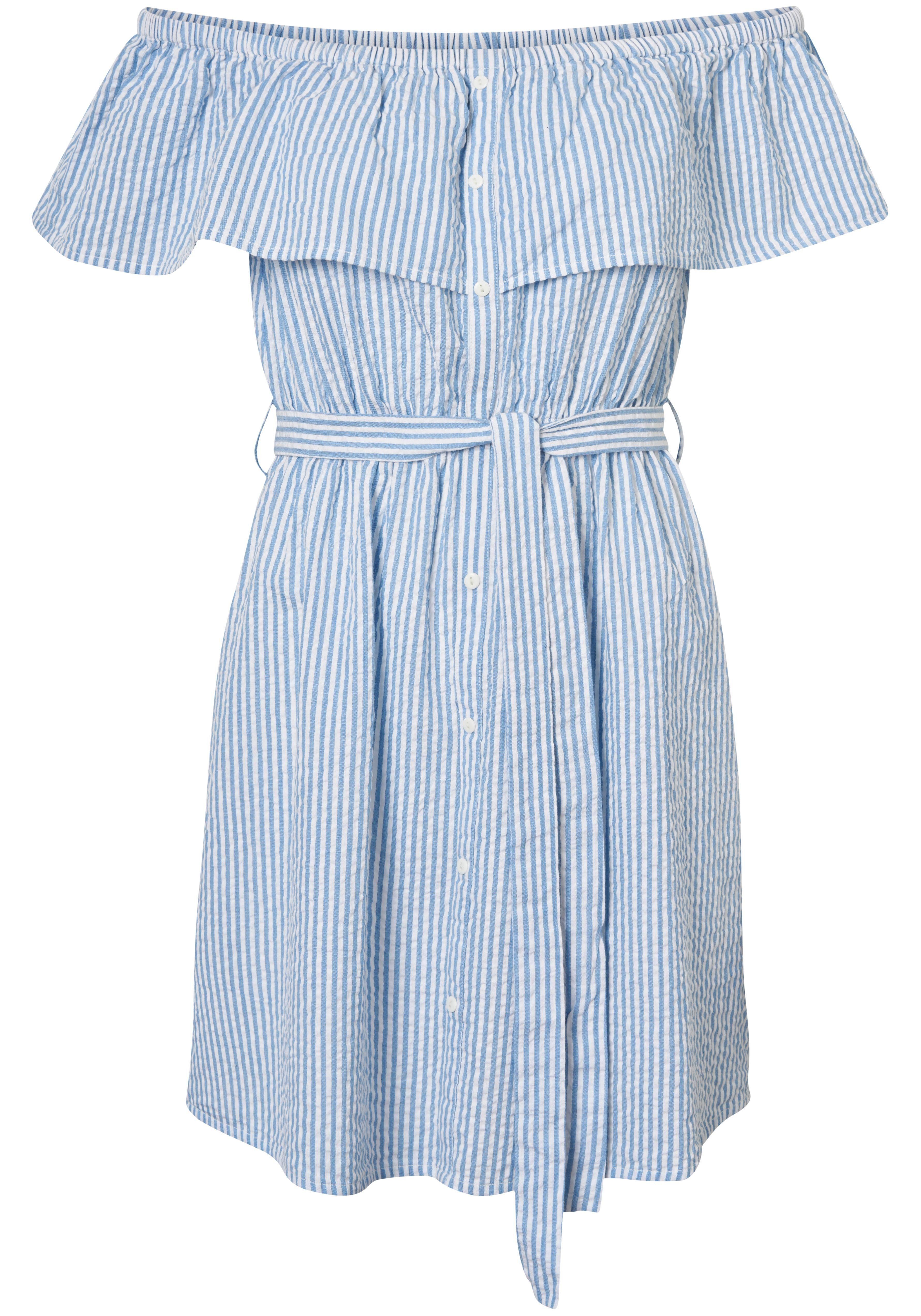 Vero Moda Blusenkleid »SUKI« aus Baumwolle