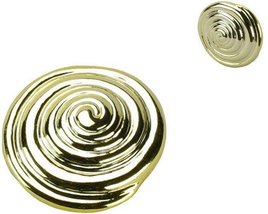 Dekomagnet »Schnecke«, Liedeco, Gardinen, (Packung, 2-St), für metallische Flächen