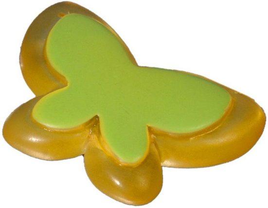 Dekomagnet »Schmetterling«, Liedeco, Gardinen, (1-St), für metallische Flächen