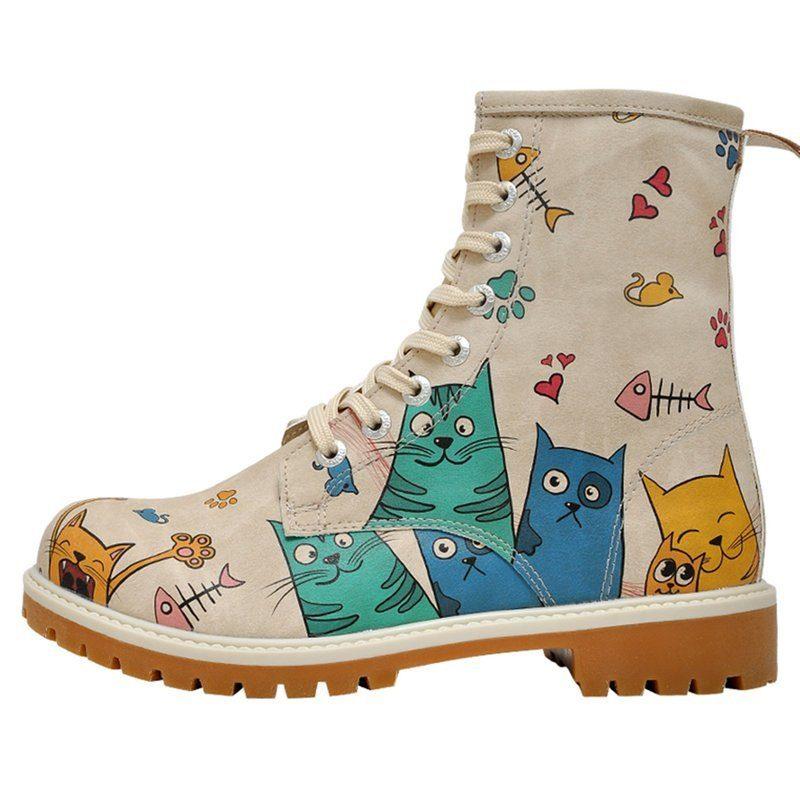 DOGO Cat Lovers Bootsschuh, Vegan online kaufen  natur