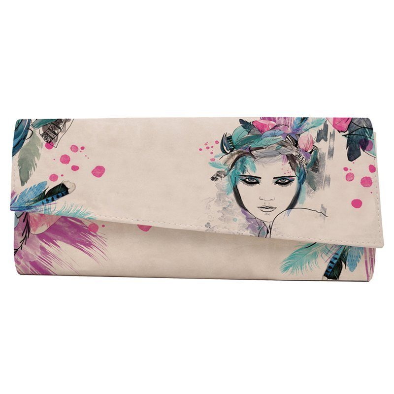 DOGO Clutch »Amazing girl«, Vegan