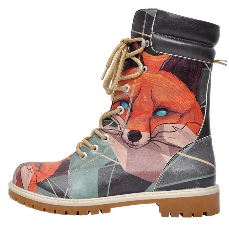 Trend &3866 Vegan DOGO »Red Fox« Bootsschuh Vegan &3866 aabe4c