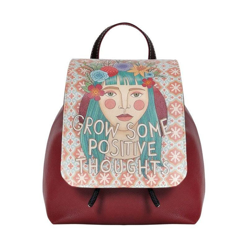 DOGO Schultertasche »Positive Thoughts«, Vegan