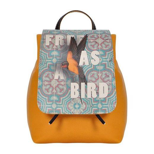 Vegan A »free Bird« As Dogo Schultertasche qFXRx8