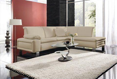 Sit&More Polsterecke, wahlweise mit Bettfunktion in schwarz