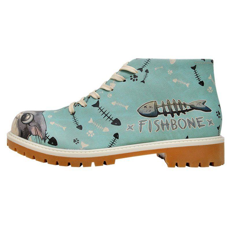 DOGO Fishbone Lover Bootsschuh, Vegan kaufen  blau
