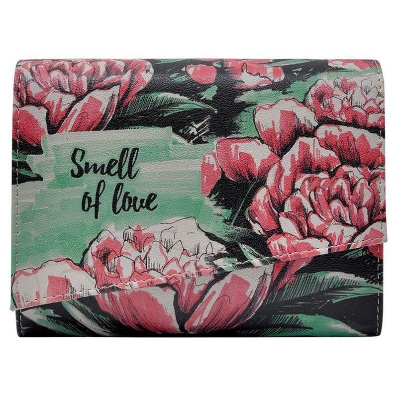 Damen DOGO Abendtasche Smell of love  Vegan grün   08680544146994