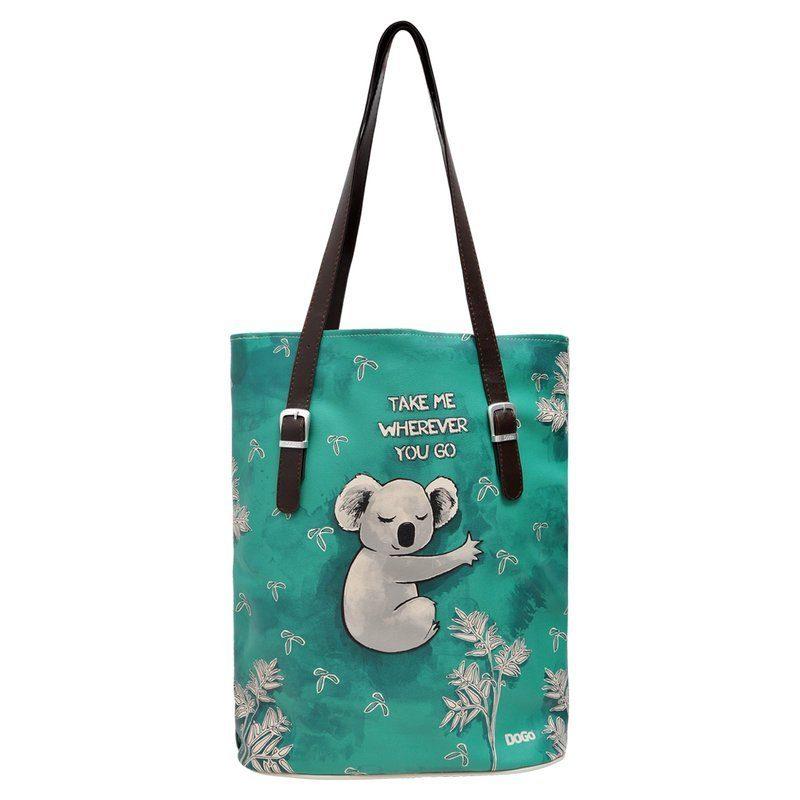 DOGO Umhängetasche »Koala hug«, Vegan