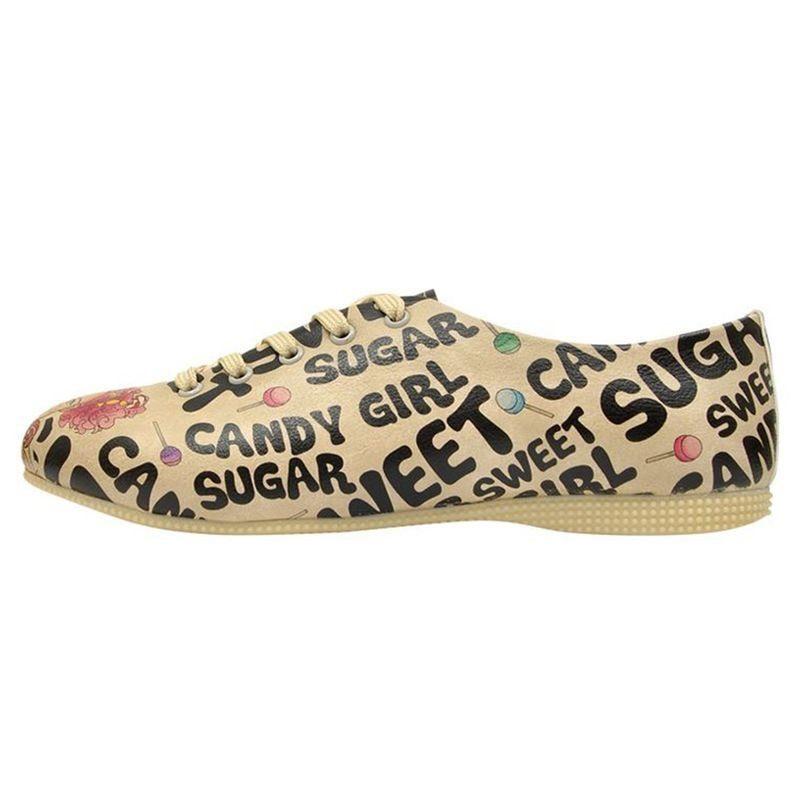DOGO Sweet Sugar Schnürschuh, Vegan kaufen  natur