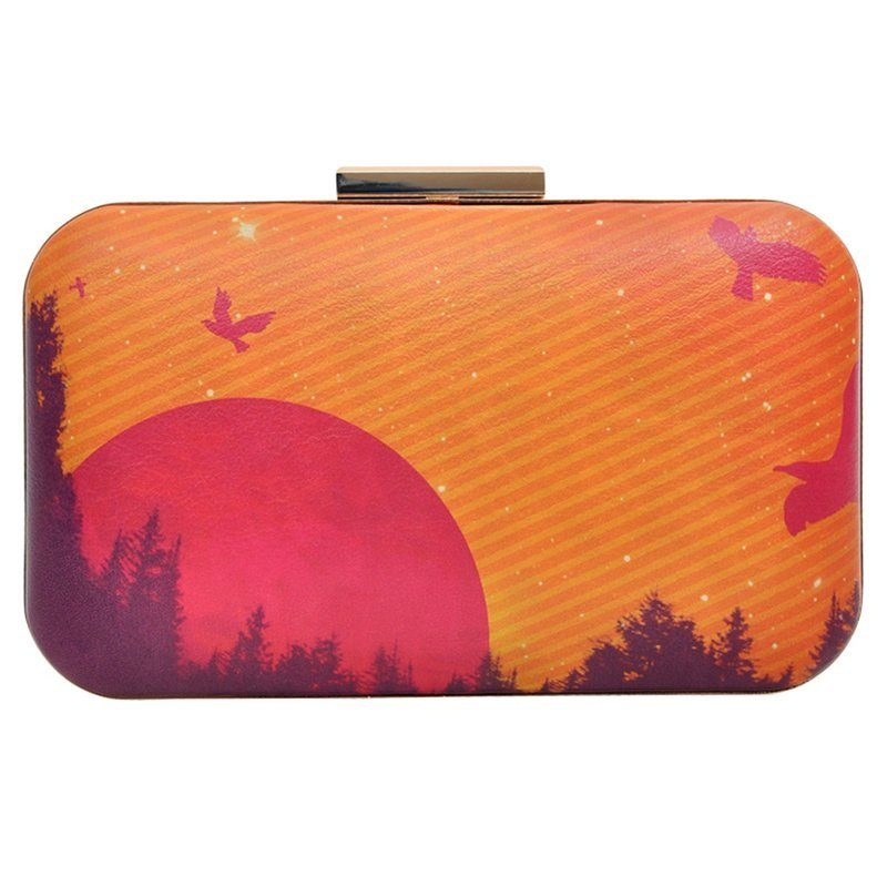 DOGO Abendtasche »Sunset«, Vegan