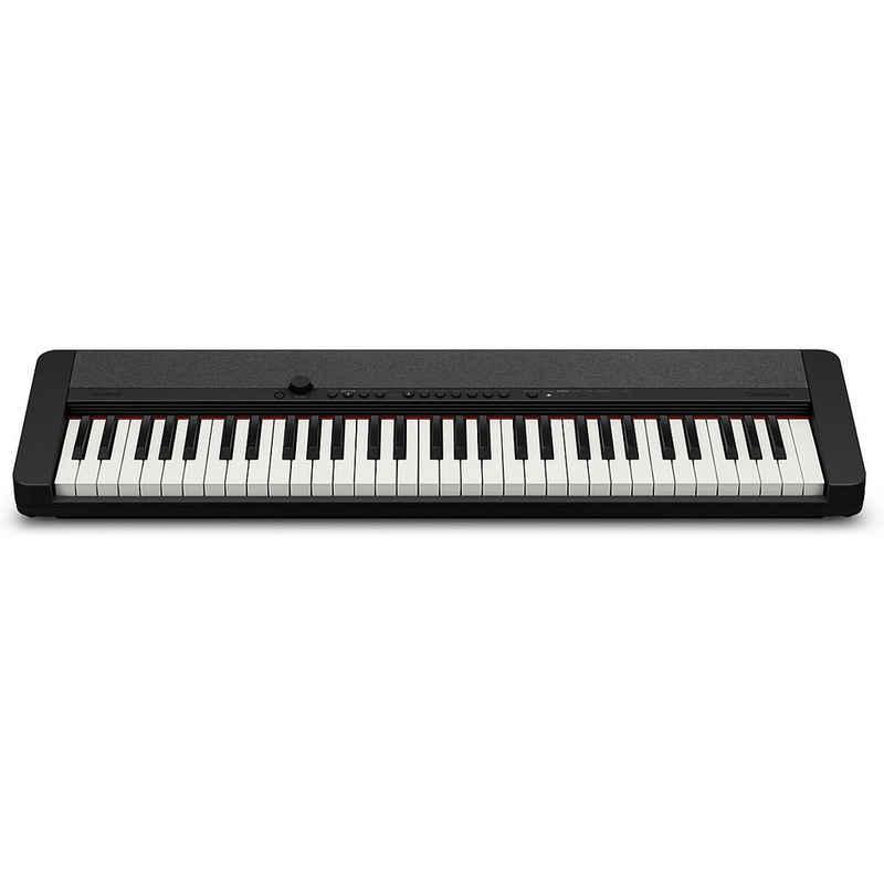 CASIO Spielzeug-Musikinstrument »CT-S1BK Piano-Keyboard inkl. Pedal«