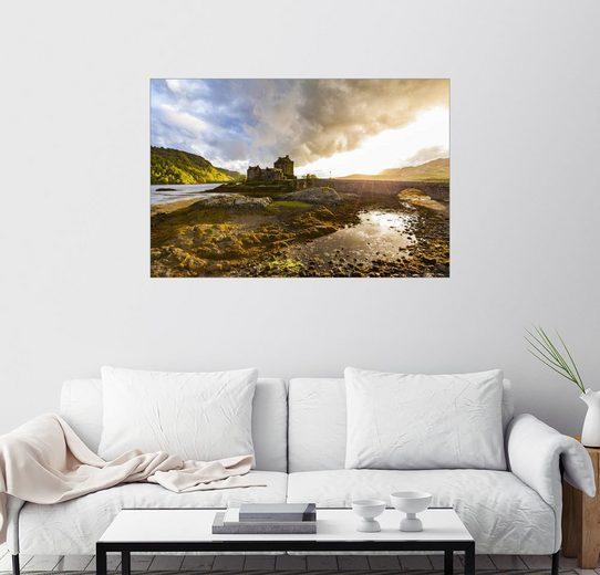 Posterlounge Wandbild - Dieterich Fotografie »Eilean Donan Castle in den Highlands, Schottland«