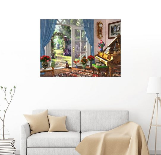 Posterlounge Wandbild - Dominic Davison »30027 Room View«