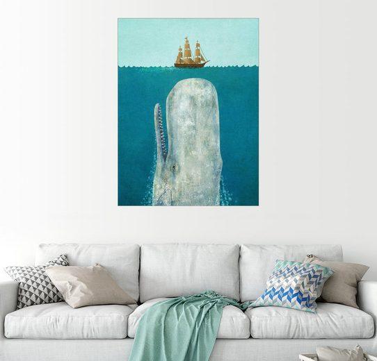 Posterlounge Wandbild - Terry Fan »the whale«