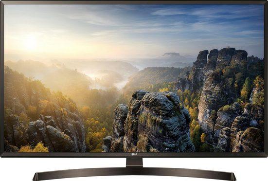 LG 49UK6400PLF LED-Fernseher (123 cm/49 Zoll, 4K Ultra HD, Smart-TV)