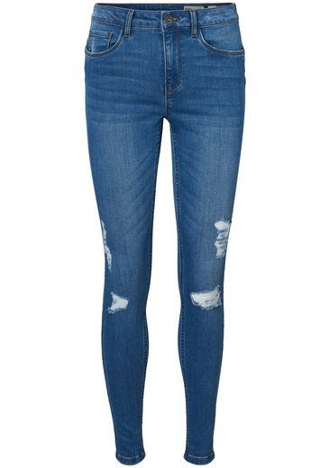 Vero Moda Skinny-fit-Jeans »SEVEN DESTROYED«